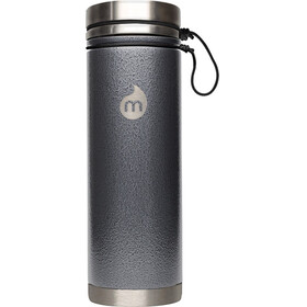 MIZU V7 Insulated Bottle 700 ml Gray Hammer Paint
